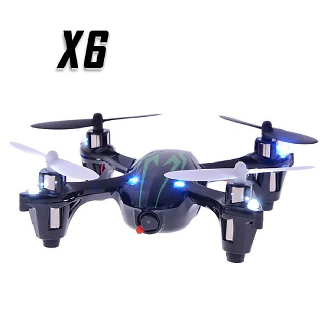 RC Drone X6 4CH 6 Eixos 2.4G Com Câmera HD Quadcópero com CR Quadcóptero RC / Controle Remoto