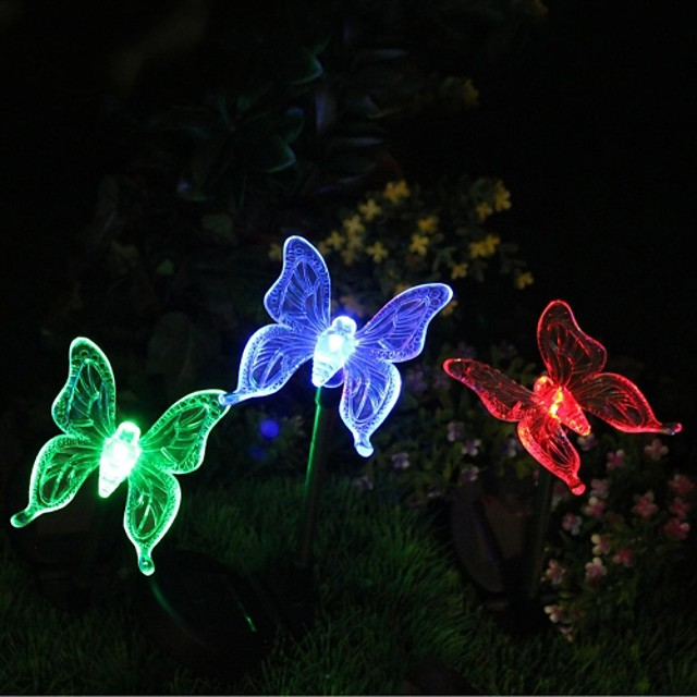 Garden Lights LEDs LED Rechargeable / Decorative 1pc