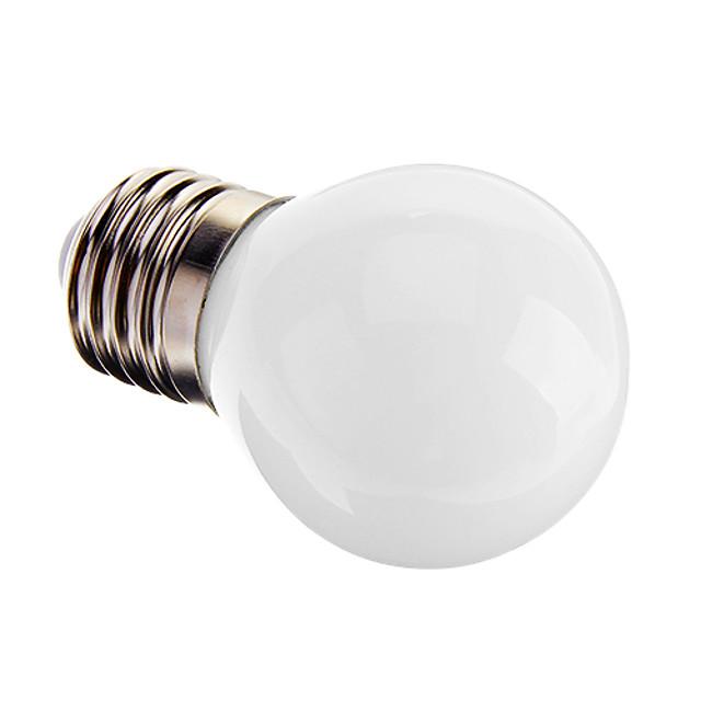 1 buc 3 W Bulb LED Glob 120-150 lm E26 / E27 G45 9 LED-uri de margele SMD 2835 Decorativ Alb Cald 220-240 V / RoHs