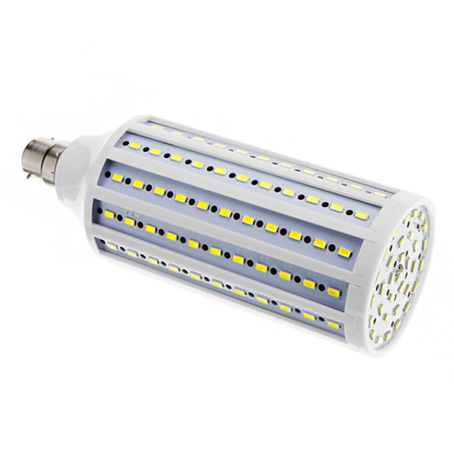 B22 30 W 165 SMD 5730 2500 LM Cool White T Corn Bulbs AC 220-240 V