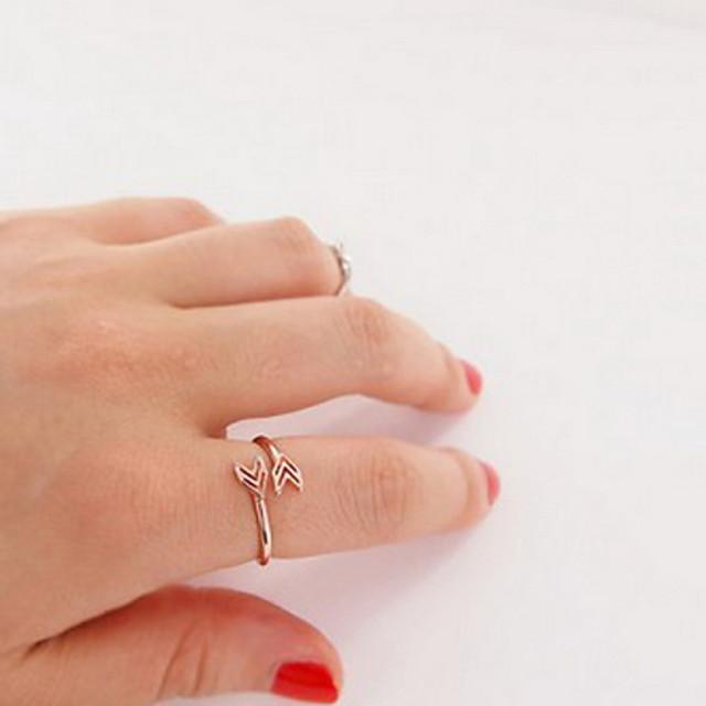 Pentru femei Band Ring degetul mare 1 buc Auriu Argintiu Aliaj femei Neobijnuit Design Unic Petrecere Zilnic Bijuterii Inimă Iubire