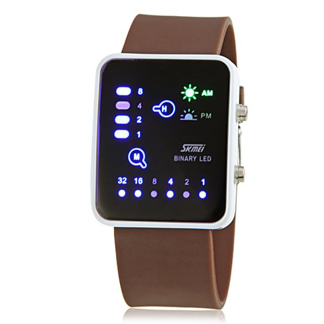 Bărbați Ceas de Mână Ceas digital Piloane de Menținut Carnea Charm Calendar Piloane de Menținut Carnea Albastru Maro / Doi ani / Silicon / Doi ani / Maxell CR2025