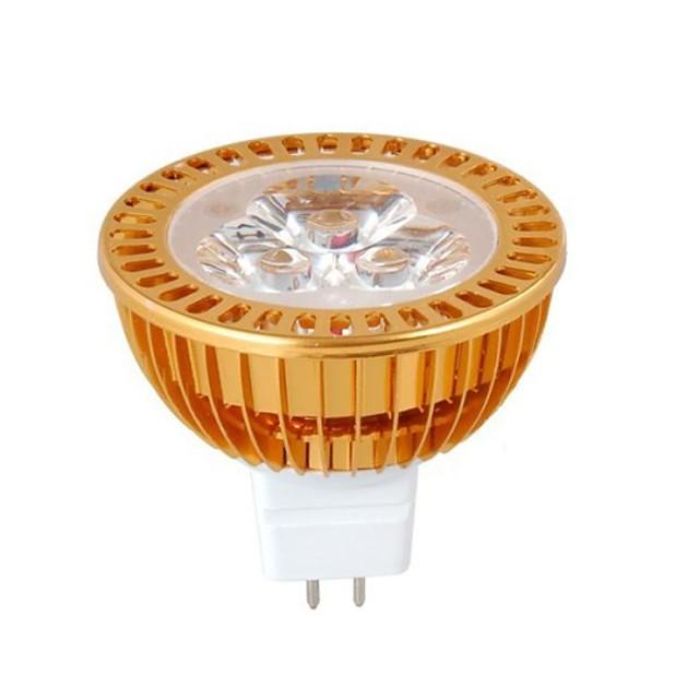 1 buc Spoturi LED MR16 LED-uri de margele LED Putere Mare Decorativ 12 V