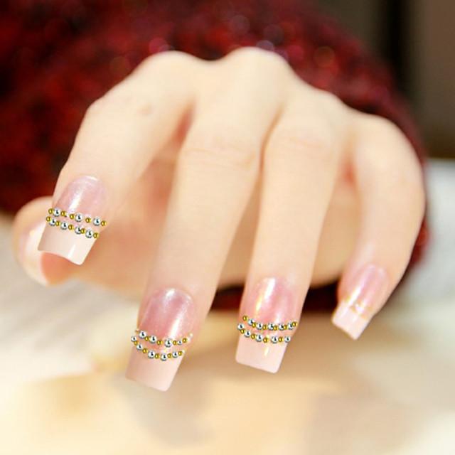 1200 pcs Nail Art Kit Bijuterie unghii nail art pedichiura si manichiura Zilnic Abstract / Modă / Plastic / Unghiul de bijuterii