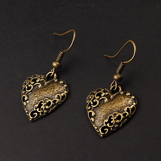 Drop Earrings - Heart Heart For Party / Daily
