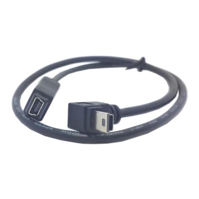 GPS Mini USB 5Pin de 90 de grade în jos direcție unghi Masculin Feminin de extensie cablu 50cm
