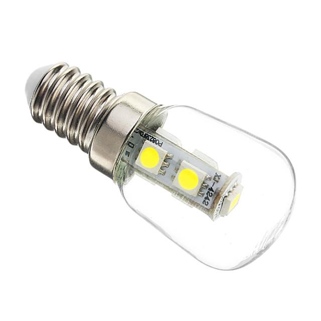 1 buc 1 W Becuri LED Corn 60-70 lm E14 T25 25 LED-uri de margele SMD 5050 Decorativ Alb Rece 220-240 V / RoHs