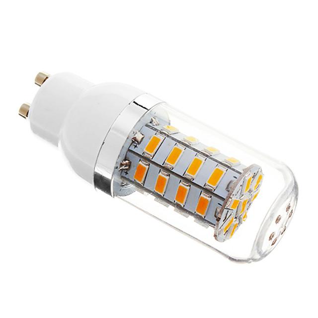 1pc 5 W LED Λάμπες Καλαμπόκι 350-400 lm E14 G9 GU10 T 36 LED χάντρες SMD 5730 Με ροοστάτη Θερμό Λευκό Ψυχρό Λευκό Φυσικό Λευκό 220-240 V 110-130 V