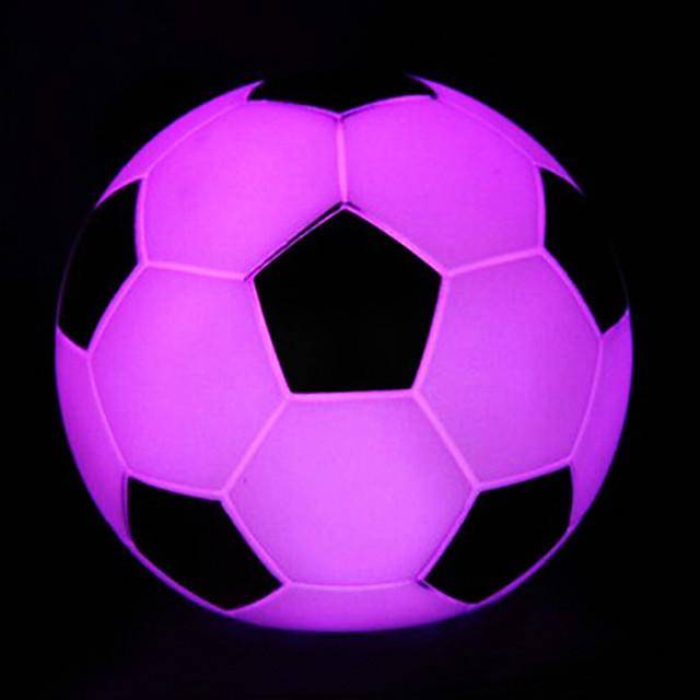 كرة القدم ROTOCAST اللون المتغيرة الخفيفة ليلة