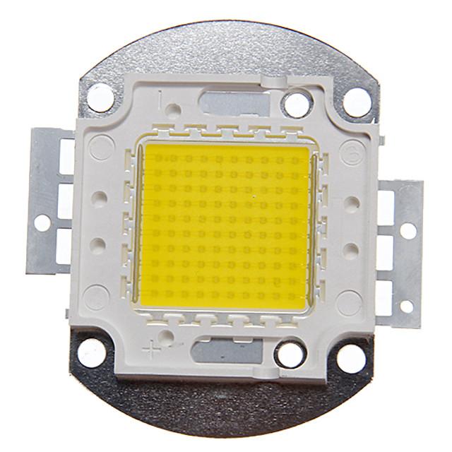 zdm 1pc diy 100w 9000-10000lm natural alb 4000-4500k lumina modul integrat led (dc33-35v 2.8a) lampă stradală pentru proiectarea sudură de aur ușor de sârmă de cupru bracket