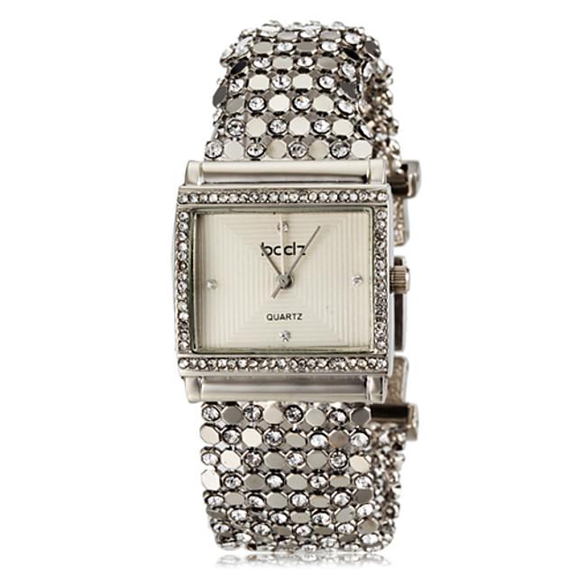 ASJ Pentru femei Ceas Brățară Piața de ceas femei imitație de diamant Oțel inoxidabil Argint Alb Negru Un an Durată de Viaţă Baterie / Japoneză / Japoneză / SSUO SR626SW