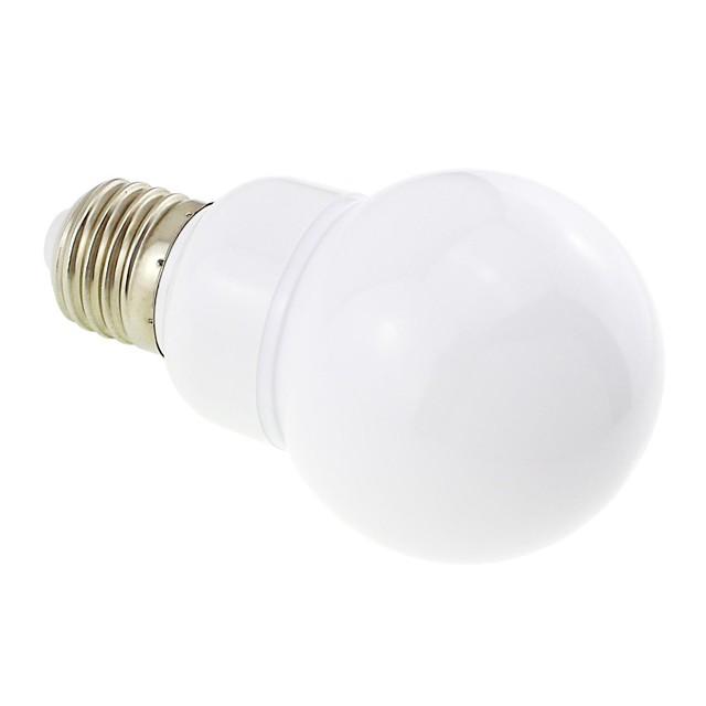 1pc 3w led bec e27 lampă acoperită mată 27 leds 5730 12v 24v ac / dc pentru barca RV rece alb cald alb