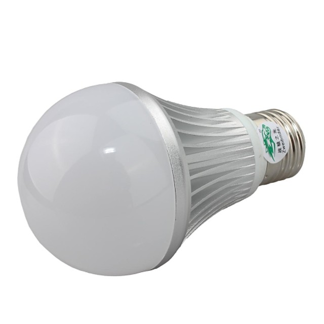 Zweihnde E26/E27 1 300~350 LM RGB Dimmable / Remote-Controlled LED Globe Bulbs AC 85-265 V