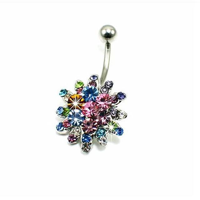 Pentru femei Bijuterii de corp Inel inelar / Piercing pe burta Cristal femei / Lux Cristal / Diamante Artificiale Costum de bijuterii Pentru Zilnic / Casual 1.6*0.6*1.0 cm Vară