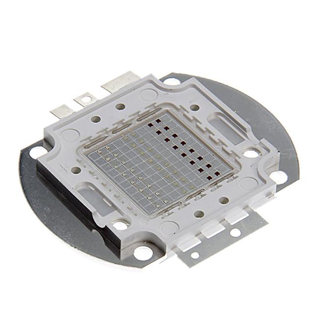 super luminos de înaltă putere led cip 50w smd cob lumina rgb de culoare schimbare pentru emițător componente diode 50 w bulb lampă margele diy iluminat (rgb)