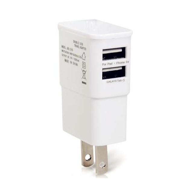 Încărcător Casă / Încărcător Portabil Încărcător USB Priză US Multi Porturi 2 Porturi USB 1 A pentru