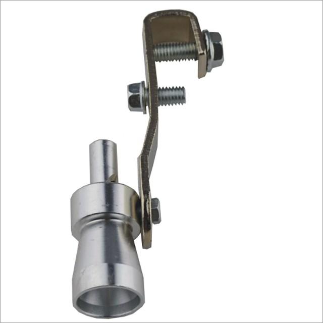 Car Turbo Sound Whistling Turbocompresor - Silver (Dimensiune S)