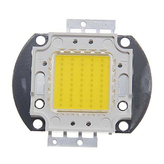 zdm ™ diy 50w integrert ledet / høy ytelse 4500-5000lm naturlig hvit 4000-4500k lys integrert ledermodul (32-35v 1,3-1,5a)