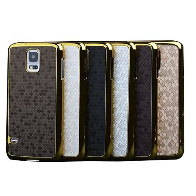 Case For Samsung Galaxy S5 Mini Plating / Pattern Back Cover Geometric Pattern PC