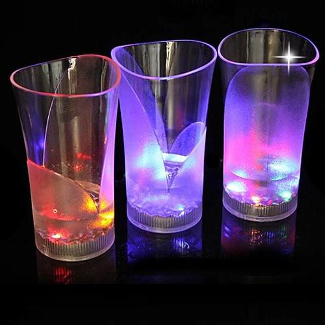 1 buc Pahare LED  / LED-uri de lumină de noapte Baterie Rezistent la apă
