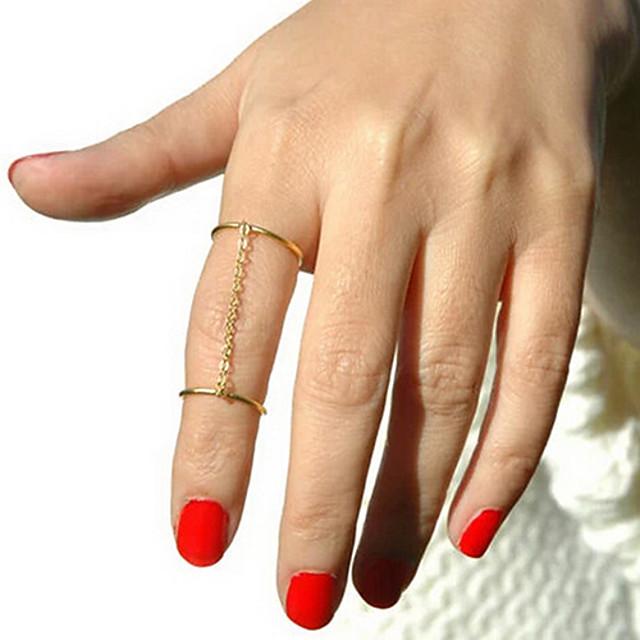 Pentru femei Auriu Argintiu Aliaj Circle Shape Personalizat Neobijnuit Design Unic Petrecere Zilnic Bijuterii