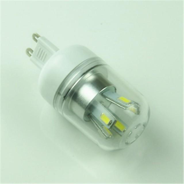 1 buc 4.5 W Becuri LED Corn 6000-6500 lm G9 T 10 LED-uri de margele SMD 5730 Decorativ Alb Rece 85-265 V