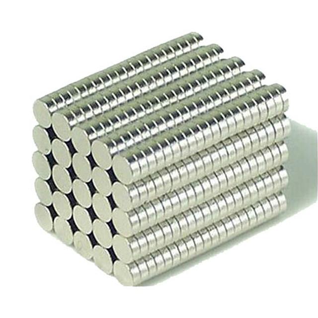 200 pcs 3*1mm Jucării Magnet Lego Super Strong pământuri rare magneți Magnet Neodymium Puzzle cub Magneți NdFeB Neodymium Jucării executive Magnet Reparații Buton Pentru copii / Adulți Băieți Fete