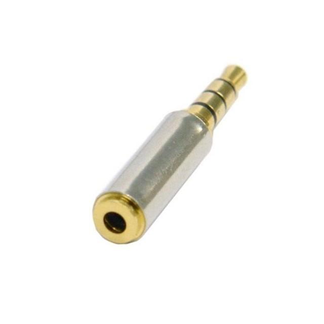 3.5mm aur de sex masculin pentru 2,5 mm feminin convertor stereo adaptor jack pentru căști audio pentru telefonul mobil 0.5m 1.5ft