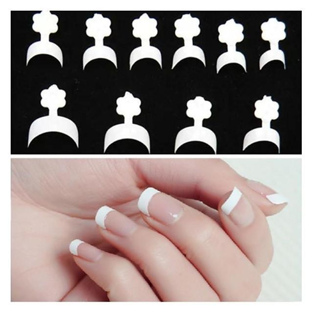10x10 100pcs Cosmetics Abstract Clasic Zilnic pentru deget
