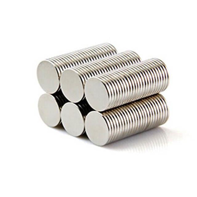 50 pcs 10*1mm Jucării Magnet Lego Super Strong pământuri rare magneți Magnet Neodymium Puzzle cub Magnet Magnetic Adulți Băieți Fete Jucarii Cadou / 14 Ani & Sus