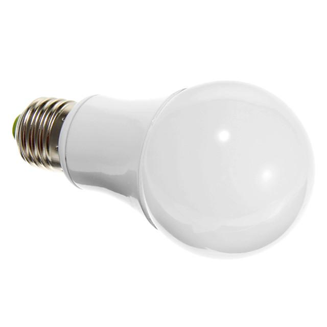 6 W مصابيح كروية LED 600 lm E26 / E27 الخرز LED SMD 5730 أبيض دافئ 100-240 V / بنفايات