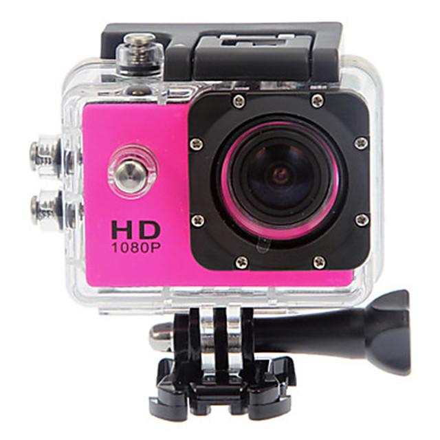 SJ4000 מצלמה בסגנון / מצלמת פעולה GoPro בלוג עמיד במים / נגד זעזועים / הכל באחד 32 GB 12 mp 4000 x 3000 פיקסל צלילה / גלישה / אוניברסלי 1.5 אִינְטשׁ CMOS 30 m