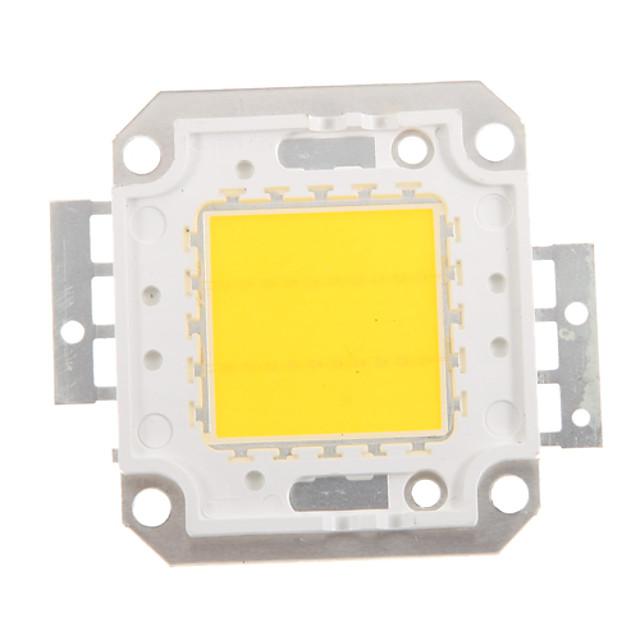 zdm diy 20w 1600-2000lm lumină caldă alb / alb rece / lumină albă naturală integrat modul led (dc33-35v 0.5-0.6a) lampă stradală pentru proiectarea sudură de sârmă de aur lumină din suport de cupru