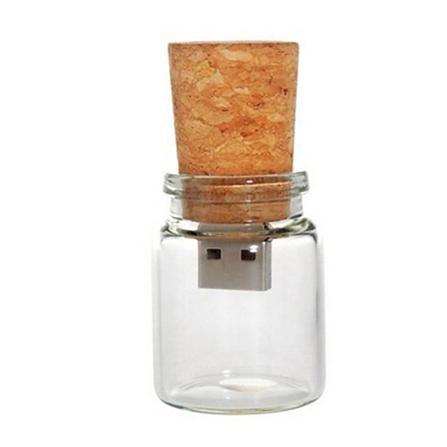 8GB Flash Drive USB usb disc USB 2.0 De lemn Desen animat Dimensiune Compactă Drift bottle