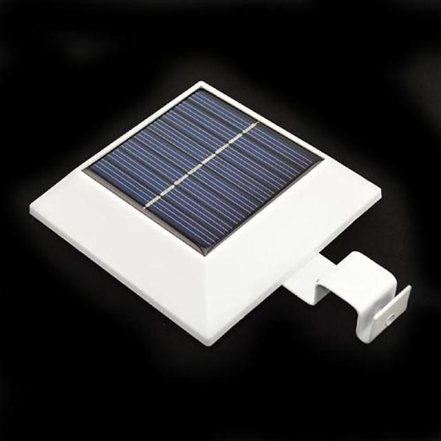Gard 4-LED Solar Powered Gutter Light Yard Garden Wall Lobby modalitate Lampa cu PIR senzor de mișcare