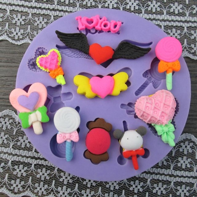 1pc Cake Moulds Plast Kage
