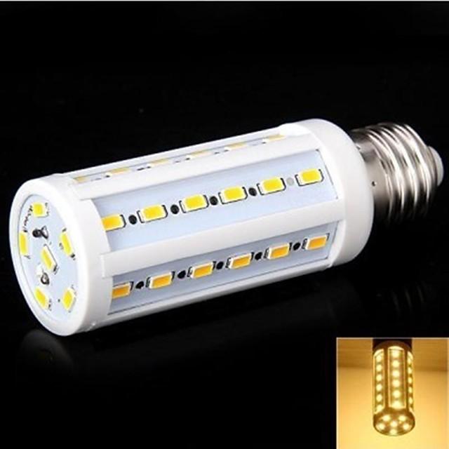 YWXLIGHT® 1 buc 8 W Becuri LED Corn 860 lm E26 / E27 T 42 LED-uri de margele SMD 5630 Alb Cald 220-240 V