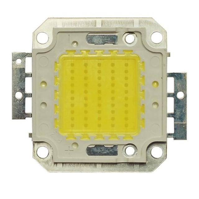 jiawen de înaltă putere integrat 50w dc 30-33v aluminiu led lămpi cip pentru lumina reflectoarelor lumina reflectoarelor rece alb