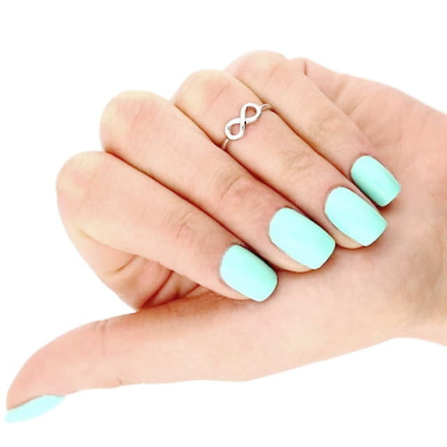 Inel pentru degetul de la picior femei Design Unic European Pentru femei Bijuterii de corp Pentru Zilnic Casual Aliaj Infinit Auriu Argintiu 1 buc