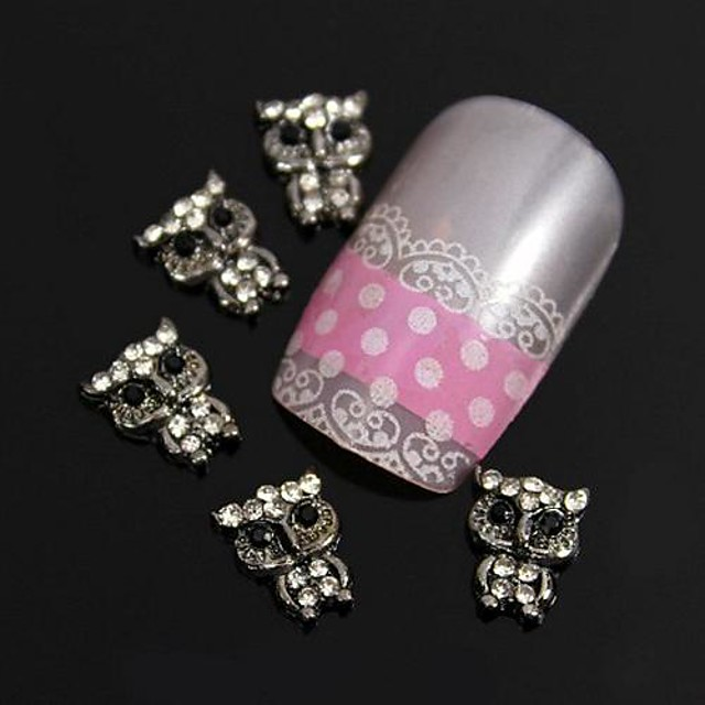 Metal Nail Jewelry For Finger Toe Other Lovely nail art Manicure Pedicure Fruit / Flower / Abstract Daily / Cartoon / Punk