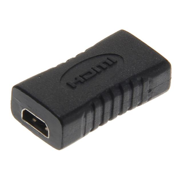 de mare viteză micro HDMI femeie la micro HDMI adaptor negru femeie