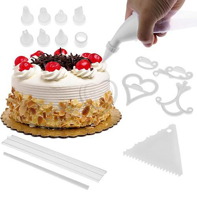 100Pcs/Set Cake Biscuit Baking Molds Diy Cake Decorating Fondant Cookie Cutters Cake Tools