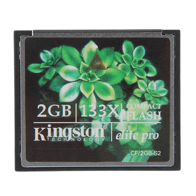Kingston 2GB Elite Pro 133x compact flash card de memorie CF