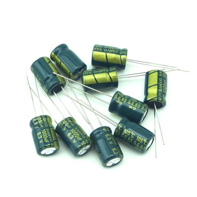 sanyo condensatori electrolitici de înaltă calitate 6.3v 1000uf 190 buc