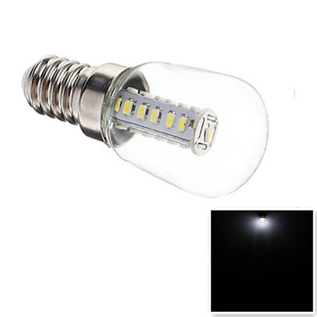 1 buc 3 W Bulb LED Glob Becuri LED Corn 180-210 lm E14 T25 25 LED-uri de margele SMD 3014 Decorativ Alb 220-240 V / RoHs