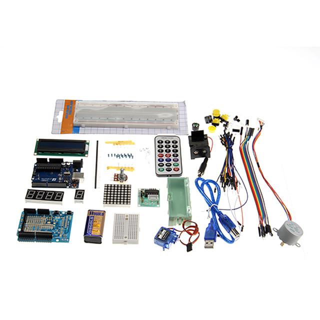 kt0001 r3 Kit de învățare uno starter pentru placi oficiale Arduino multicolora