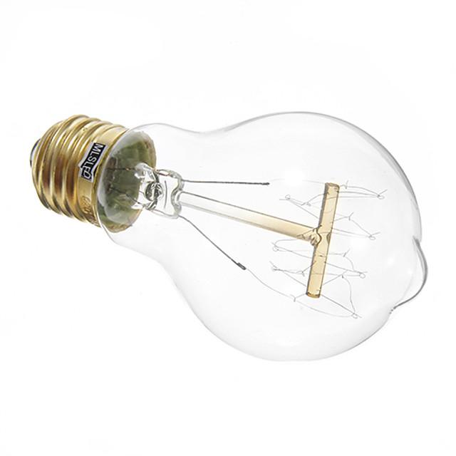 1 buc 40 W Neoane 350 lm E26 / E27 A19 LED-uri de margele Decorativ Alb Cald 220-240 V / RoHs