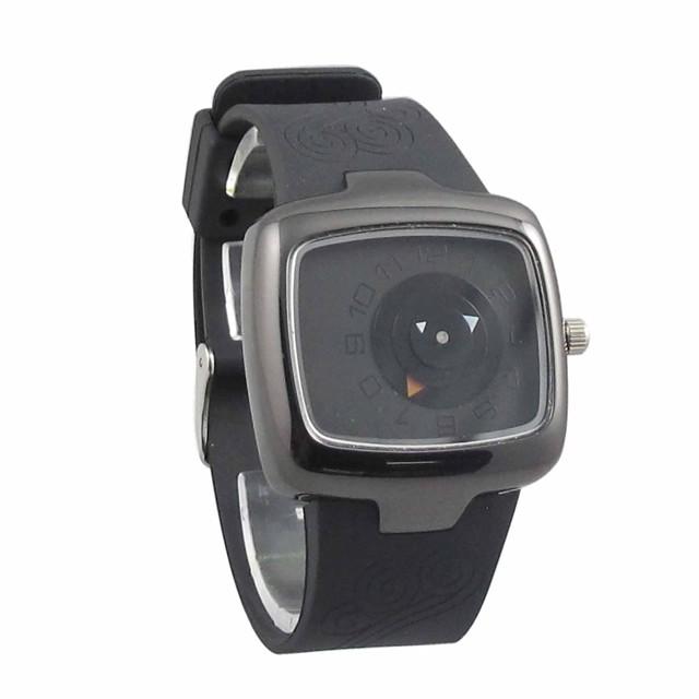 Bărbați Ceas Sport Unic Creative ceas Quartz Quartz Japonez Silicon Negru 30 m Rezistent la Apă Analog