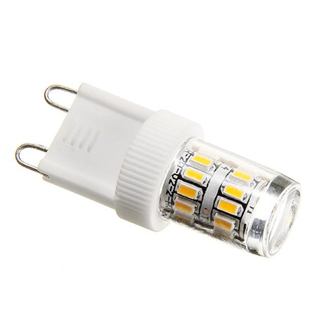 2 W Becuri LED Corn 180-200 lm G9 T 27 LED-uri de margele SMD 3014 Decorativ Alb Cald 220-240 V