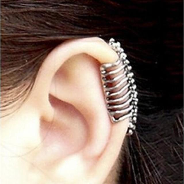 Pentru femei Cătușe pentru urechi Craniu Halloween Memento Mori femei cercei Bijuterii Pentru Petrecere Zilnic Casual 1 buc